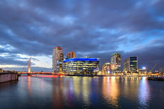 Salford Quays Manchester,England UK Royalty Free Stock Photo