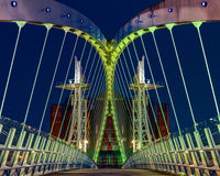 Salford Quays, Manchester Stock Image