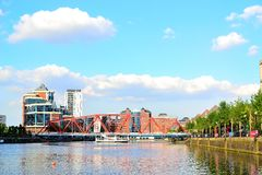 Salford quays, Manchester, UK Stock Photography