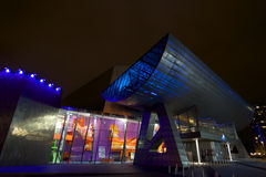 Salford Quays Theatre, Manchester Royalty Free Stock Images