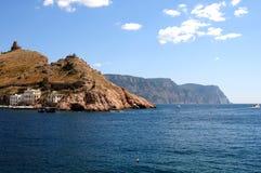 Salga de la bahía de Balaklavsky Imagenes de archivo