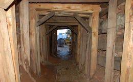 Salga de la mina Fotografía de archivo libre de regalías