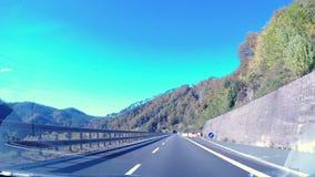 Salga del túnel del automóvil almacen de video