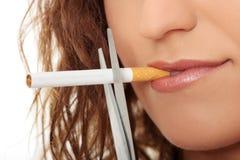 Salga el fumar Imagen de archivo