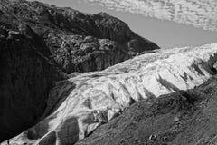 Salga el glaciar Imagen de archivo