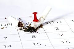 Salga la imagen antifumador rendida Smoking Imágenes de archivo libres de regalías