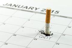 Salga la imagen antifumador rendida Smoking Imagenes de archivo