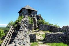 Salgo vara castle, Hungary Royalty Free Stock Photo