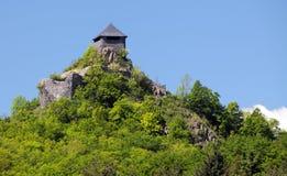 Salgo-vara Schloss, Ungarn Stockbild