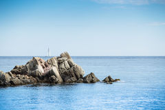Salguer - Costa Brava Royalty Free Stock Images