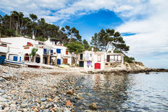 Salguer - Costa Brava Royalty Free Stock Photos