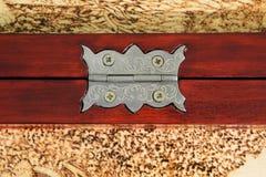 Saliência da porta do metal Fotos de Stock