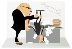 Saliência irritada Imagem de Stock Royalty Free