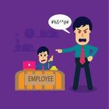 Saliência irritada Imagem de Stock