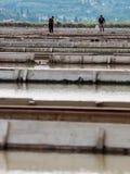 Sali le pentole di sicciole, Pirano, Slovenia, europa Fotografia Stock