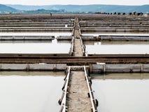 Sali le pentole di sicciole, Pirano, Slovenia, europa Fotografie Stock Libere da Diritti