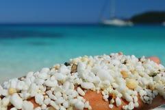Saliara beach Stock Images