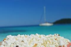 Saliara beach Royalty Free Stock Images
