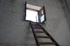 Salida al concepto del cielo El escape Foto de archivo