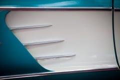 Salida de aire del coche del vintage imagen de archivo