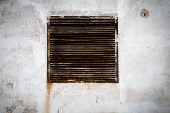 Salida de aire rústica Fotos de archivo libres de regalías