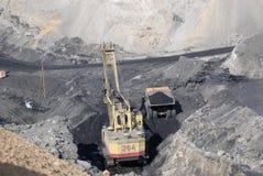 Salida de carbón Imagen de archivo libre de regalías