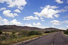 Salida de la autopista 10 Foto de archivo libre de regalías