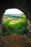 Salida de la cueva Fotografía de archivo libre de regalías