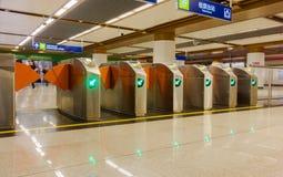 Salida de la estación de metro Imagen de archivo