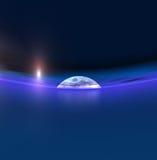 Salida de la luna Imagen de archivo