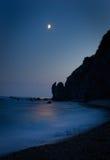 Salida de la luna Foto de archivo