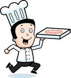 Salida de la pizza Fotografía de archivo libre de regalías