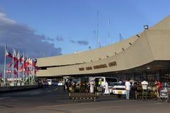 Salida del aeropuerto internacional de Manila Fotos de archivo libres de regalías