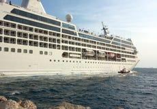 Salida del barco de cruceros Imagen de archivo