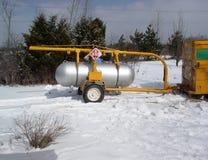 Salida del depósito de gasolina - ENERGÍA Foto de archivo libre de regalías