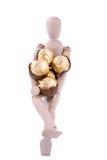 Salida del regalo del chocolate Fotografía de archivo