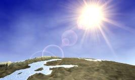 Salida del sol 1 del mundo Libre Illustration