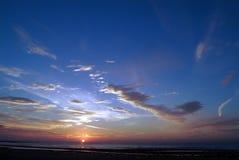 Salida del sol Imagen de archivo