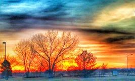 Salida del sol 3 Fotografía de archivo