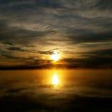 Salida del sol 02 Foto de archivo