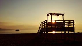 Salida del sol foto de archivo libre de regalías