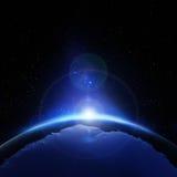 Salida del sol antártica Fotografía de archivo libre de regalías
