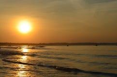 Salida del sol asombrosa fotografía de archivo