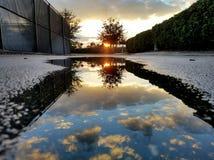 Salida del sol asombrosa Imagen de archivo