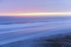 Salida del sol Atlántico Imagenes de archivo