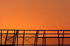 Salida del sol brillante Fotografía de archivo libre de regalías