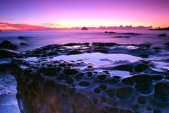 Salida del sol costera Imagen de archivo