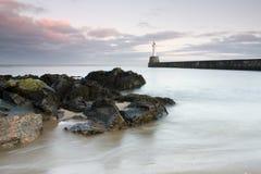 Salida del sol de Aberdeen Foto de archivo