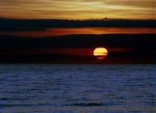 Salida del sol de Carolina del Sur más adelante Foto de archivo libre de regalías