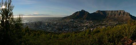 Salida del sol de Ciudad del Cabo Imágenes de archivo libres de regalías